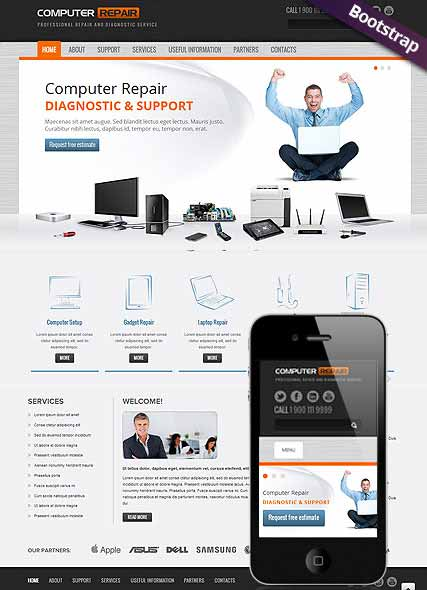 Website template 300111587