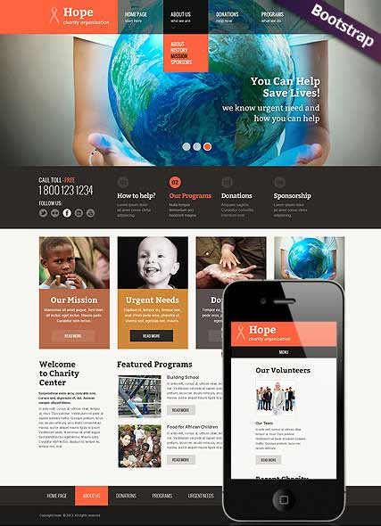 Website template 300111623