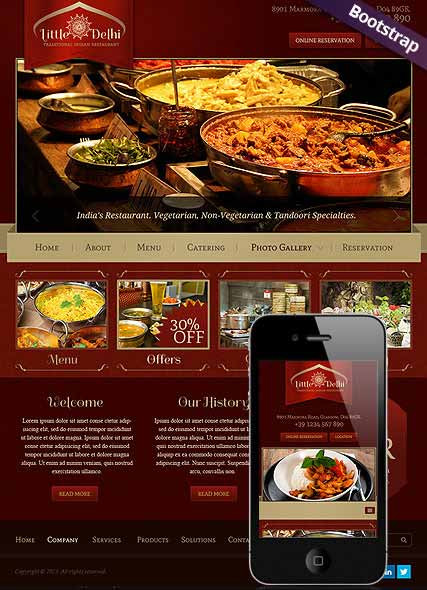 Website template 300111689