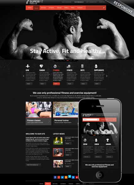 Website template 300111724