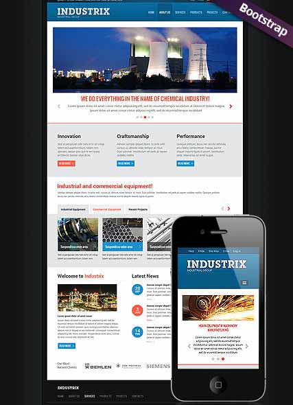 Website template 300111726