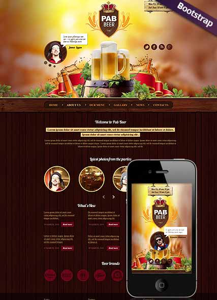 Website template 300111762