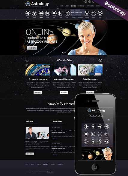 Website template 300111766
