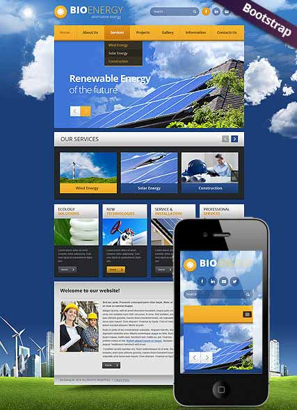 Website template 300111769