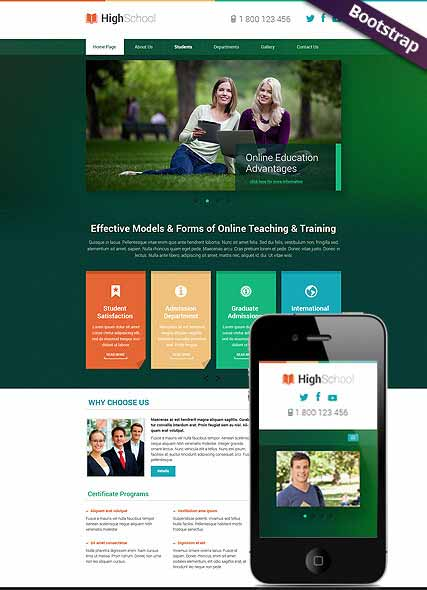 Website template 300111778