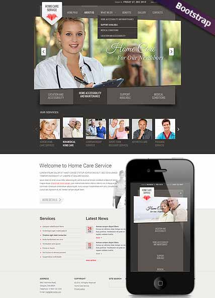 Website template 300111784