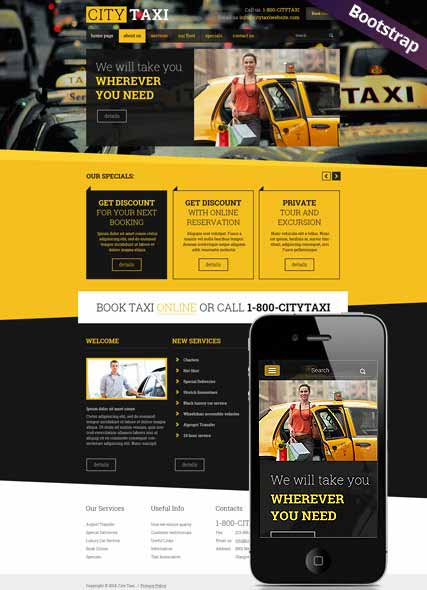 Website template 300111789