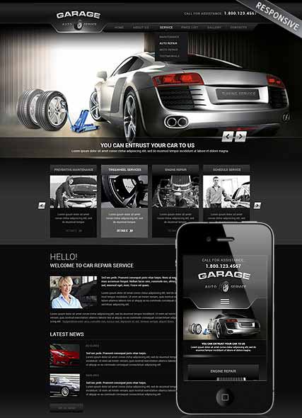 Website template 300111831