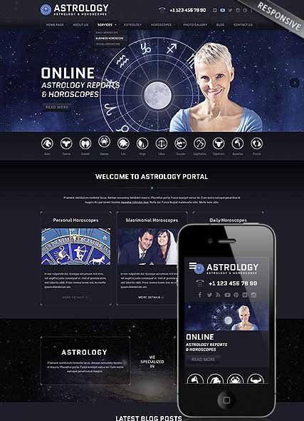 Website template 300111843