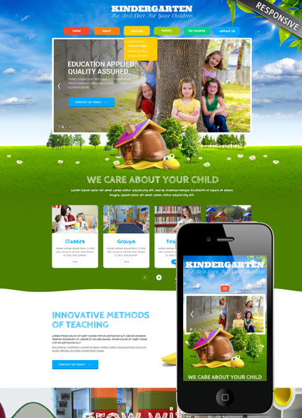 Website template 300111866
