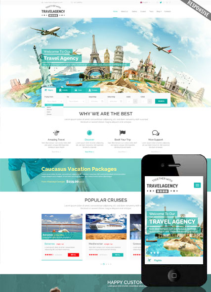 Travel Agency WP