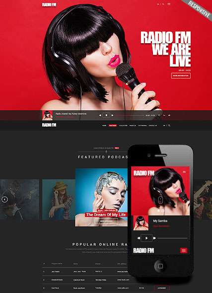 Music Website Templates - Music website templates