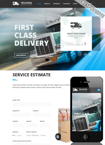 Website template 300111942