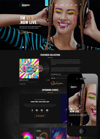 Website template 300111946