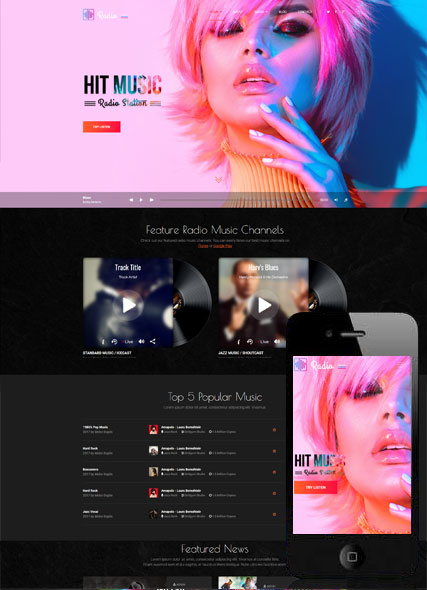 Website template 300111949